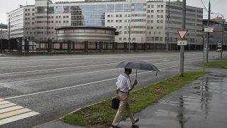 Moskova'daki Rus Askeri İstihbarat Servisi genel merkezi