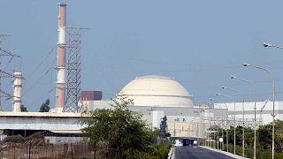 Archives : la centrale nucléaire Bouchehr, dans le sud de l'Iran, le 20 août 2010