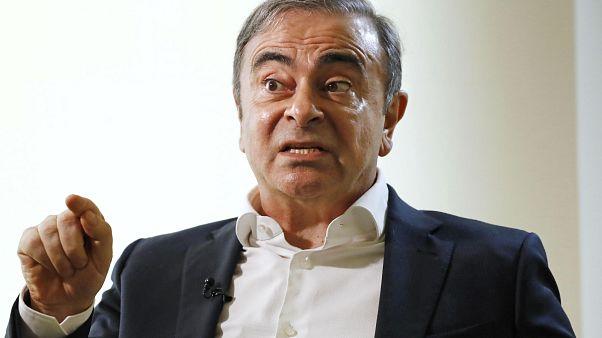 رجل الأعمال اللبناني البرازيلي الفرنسي كارلوس غصن