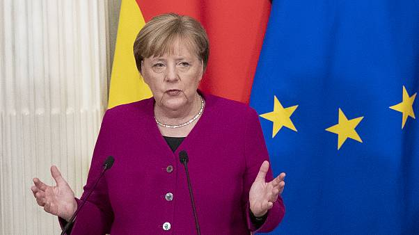 Η καγκελάριος της Γερμανίας, Άνγκελα Μέρκελ