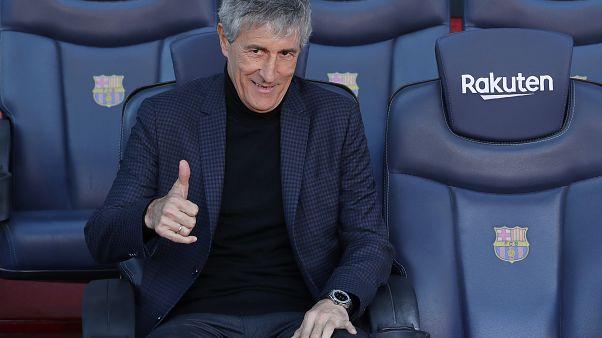 Aus dem Vorruhestand ins Camp Nou: FC Barcelona präsentiert Trainer Sequién (61)