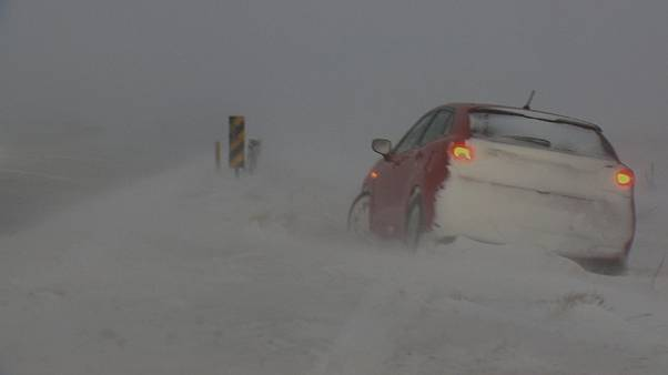 Islandia azotada por una interminable ola de mal tiempo