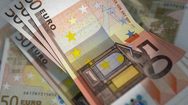 أوراق نقدية من عملة اليورو