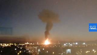 Second death confirmed after giant chemical blast in Spain