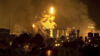 Последствия взрыва в Таррагоне