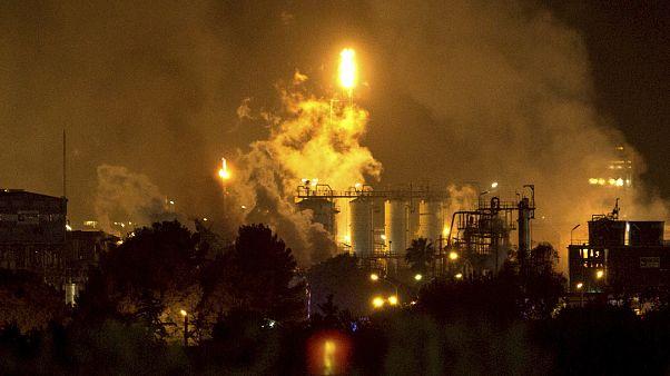 Взрыв на химзаводе в Таррагоне