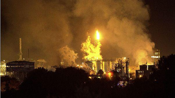 انفجار در کارخانه مواد شیمیایی در اسپانیا