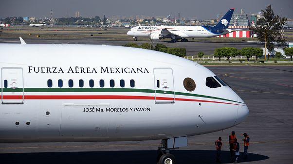 Meksika Cumhurbaşkanlığı uçağı