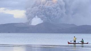 Újabb vulkánkitöréstől tartanak a Fülöp-szigeteken
