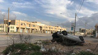 Libya'da General Hafter'e bağlı silahlı güçlerden Trablus'ta bazı bölgelere roket saldırısı