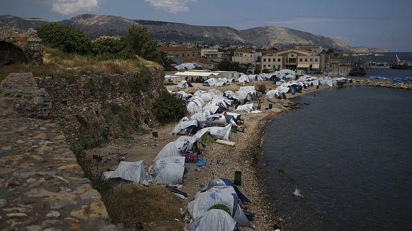 Жители Эгейских островов возмущены ситуацией с мигрантами