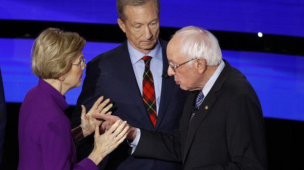 ABD: Demokrat Parti başkanlık aday adayı Warren'dan Sanders'a cinsiyetçilik suçlaması