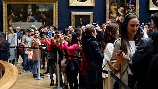 2019'da en çok ziyaretçi çeken müze yine Paris'in Louvre Müzesi oldu