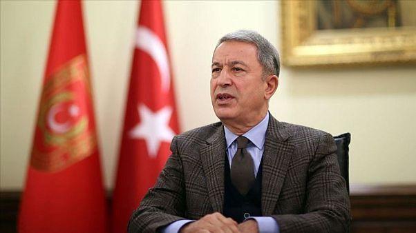 Savunma Bakanı Hulusi Akar: Libya ve İdlib'de önceliğimiz akan kanın durması