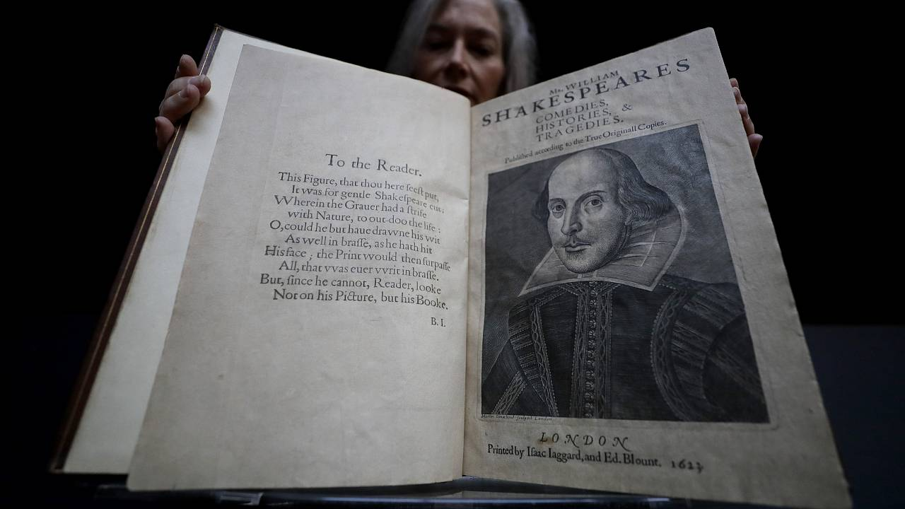 Christie's subasta un ejemplar del 'First Folio' de Shakespeare