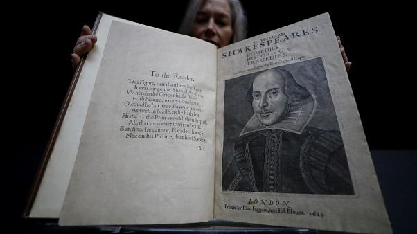 The book which will go for auction in New York on April 24, is estimated at 4-6 million US dollars. (AP Photo/Kirsty Wigglesworth)