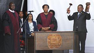 Filipe Nyusi tomou posse em Maputo e iniciou o segundo mandato como Presidente da República de Moçambique