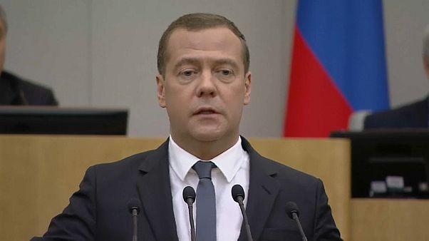 Отставка российского правительства