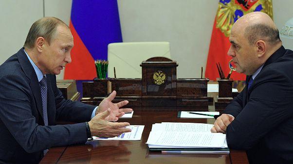 Rusya Devlet Başkanı Vladimir Putin, başbakan olarak önerdiği Federal Vergi Dairesi Başkanı Mihail Mişustin