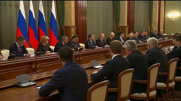 Путин предложил кандидатуру нового премьера