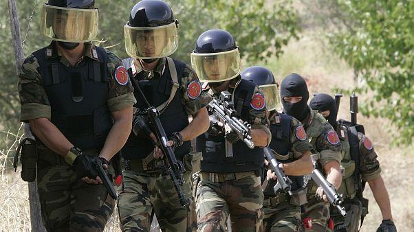 Mafya üyelerine operasyon düzenleyen İtalyan güvenlik güçleri (arşiv)