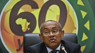 رئيس الاتحاد الإفريقي (كاف) أحمد أحمد