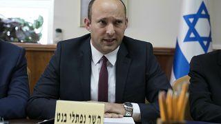 وزير الدفاع الإسرائيلي نفتالي بينيت 27 يناير/كانون الثاني 2019