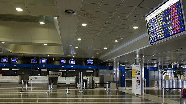 """Φωτογραφία αρχείου του αεροδρομίου """"Μακεδονία"""" στη Θεσσαλονίκη"""