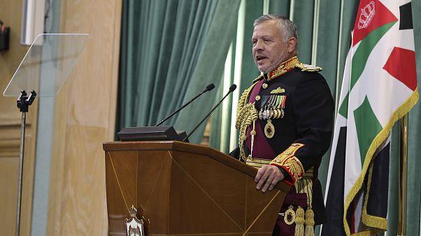 العاهل الأردني الملك عبد الله الثاني في عمان الأردن 10 تشرين الثاني-نوفمبر2019