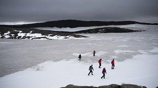 Al menos tres grandes avalanchas de nieve en los fiordos de Islandia