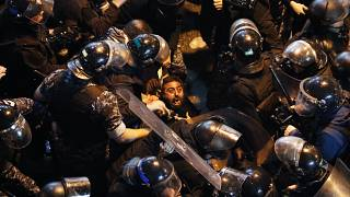 Manifestation à Beyrouth mercredi 15 janvier 2020.