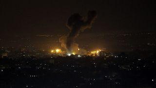 Αεροπορικοί βομβαρδισμοί του Ισραήλ στη Λωρίδα της Γάζας