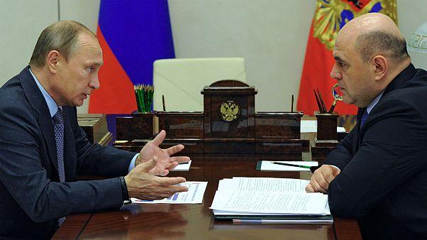 معرفی میخائیل میشوستین بعنوان نخست وزیر جدید روسیه از طرف ولادیمیر پوتین