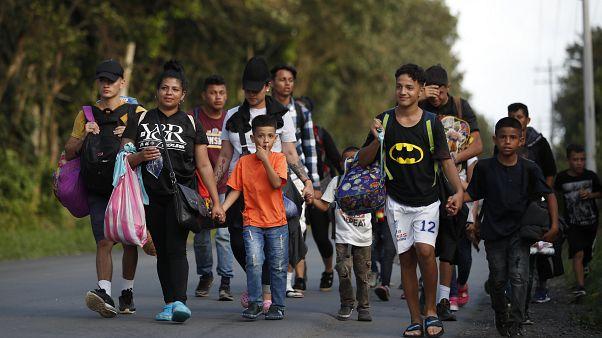 Nueva caravana de migrantes rumbo a EE.UU.