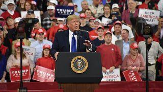 ABD Başkanı Donald Trump, Wisconsin eyaletinde düzenlenen mitingde konuşma yaptı.