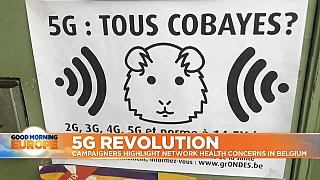 5G mobile technology: campaigners in Brussels unconvinced it's safe