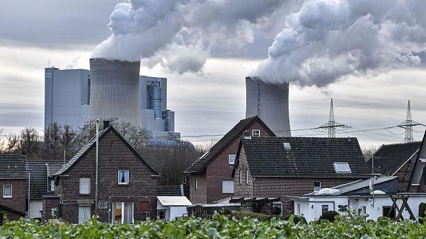 Kohlekraftwerk in Bergheim-Niederaußen.
