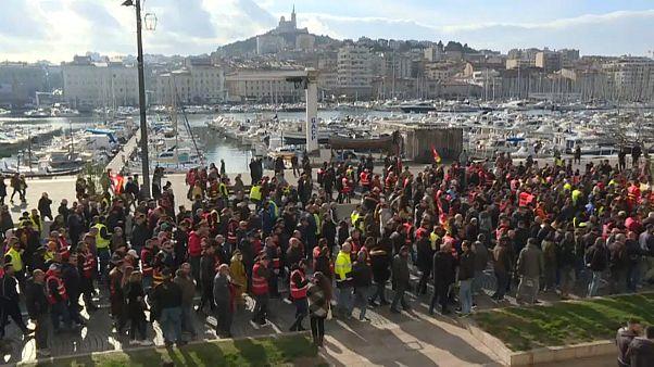Manifestações em França perdem fôlego
