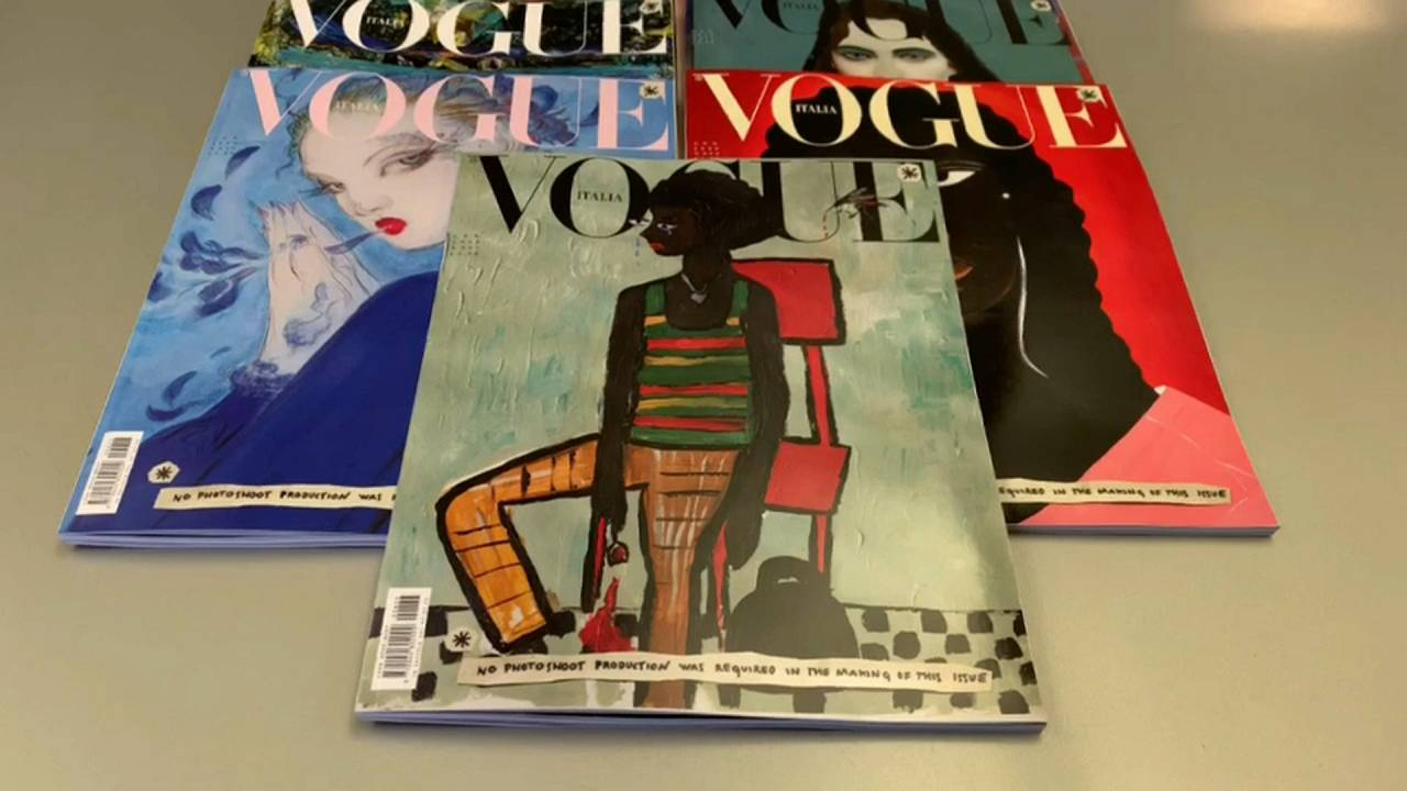 """Vogue Italia отказывается от фотографий и """"зеленеет"""""""