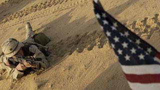 ABD'nin Irak'ta görev yapan askerleri