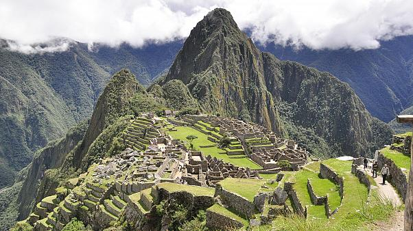 Six tourists arrested for vandalism at Peru's Machu Picchu