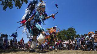 Archivo. Miembros de la tribu Choctaw, de Luisiana, una de las que ha presentado la denuncia