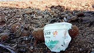 Kiváló állapotban maradt meg egy 44 éves műanyag joghurtos pohár