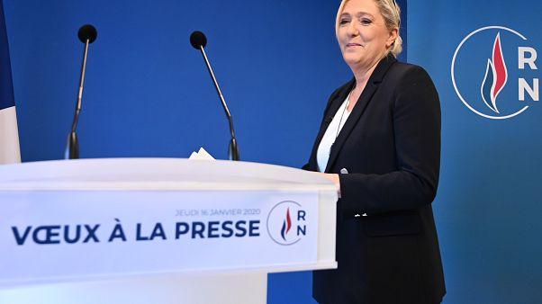 Marine Le Pen en route pour 2022