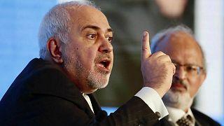 محمد جواد ظریف وزير الخارجية الإيراني