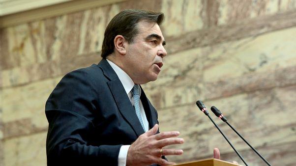 Ο αντιπρόεδρος της Ευρωπαϊκής Επιτροπής, Μαργαρίτης Σχοινάς