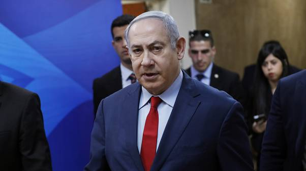 رئيس الوزراء الإسرائيلي بنيامين نتنياهو  في القدس، الأحد 5 يناير/  كانون الثاني 2020