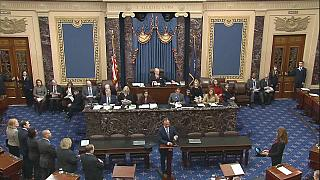 Megkezdődött a szenátusban a Trump elleni eljárás