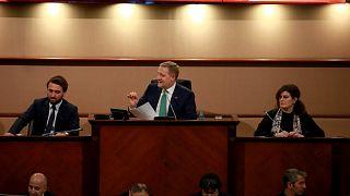 İBB Meclisi ocak ayı ikinci oturumu, Saraçhane'deki başkanlık binasında gerçekleştirildi