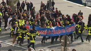 """Wirtschaft lahmlegen"": Gewerkschaften fest entschlossen"